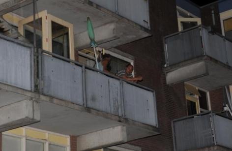 vuurkorf balkon