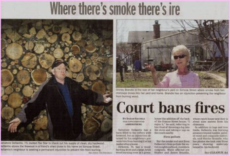 court bans fire