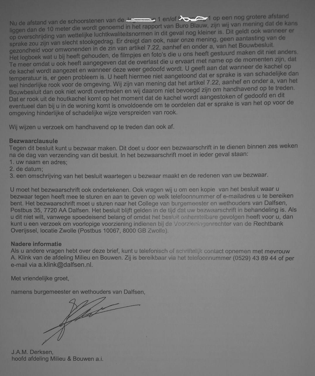 voorbeeldbrief klacht overlast buren houtkachel | Stop Fijnstof Uit Houtrook | Pagina 8 voorbeeldbrief klacht overlast buren