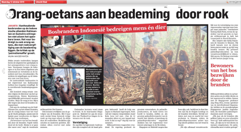 AD 12-10-2015 Orang Oetangs aan beademing